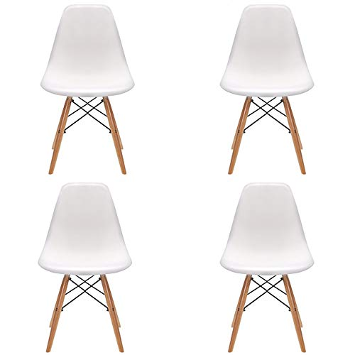 Pack 4/6 sillas de Comedor Silla diseño nórdico Retro...