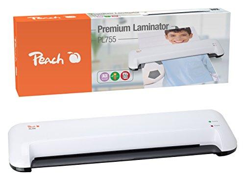 Peach PL755 - Laminador DIN-A3, listo para usar, adecuado...