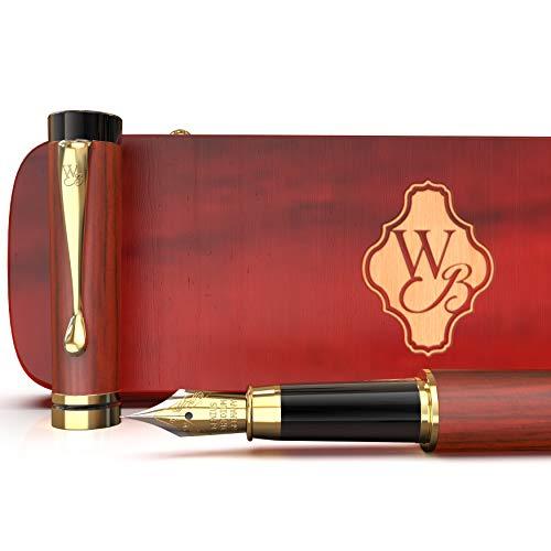 Wordsworth & Black Juego de pluma estilográfica, madera de...
