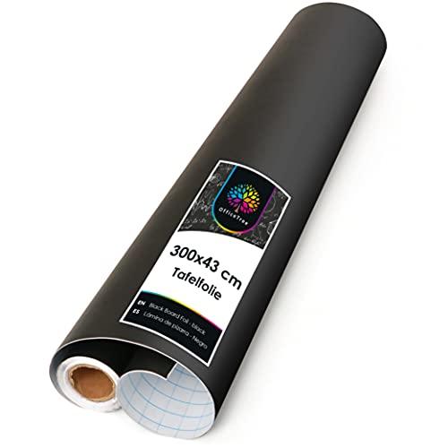 OfficeTree Papel Pizarra Adhesivo Pared 43 x 300 cm - Vinilo...
