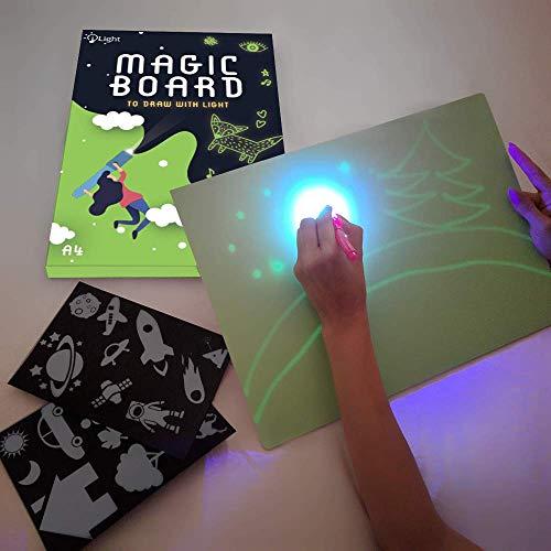 iLight - Nueva Pizarra Infantil Mágica de Dibujo con Luz -...
