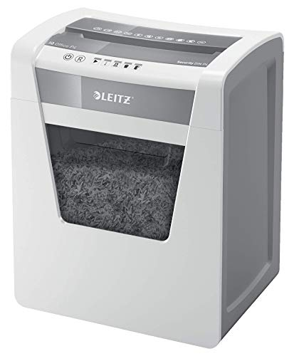 Leitz 80032000IQ Office P4CH destructora Color Blanco