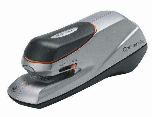 RAPID 2102349 - Grapadora eléctrica OPTIMA GRIP color...