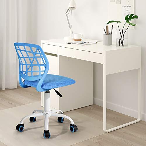 Silla de escritorio Fanilife, ajustable y giratoria sin...