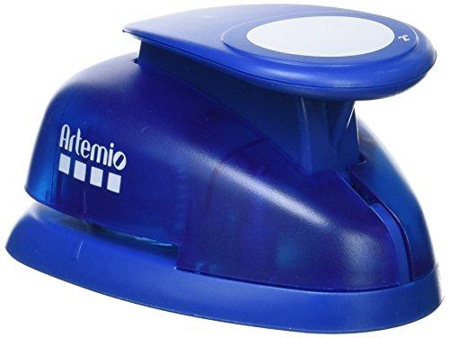 Artemio Perforadora Gigante 5 cm círculo, Azul, 11 x 7,5 x...
