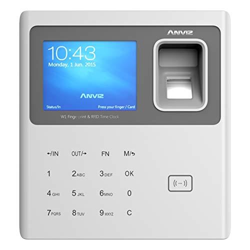 Anviz - Detección de asistencia con lector biométrico,...
