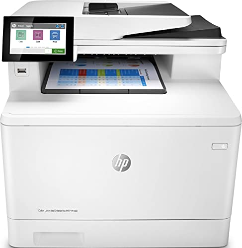 HP Color LaserJet Enterprise MFP M480f 3QA55A, Impresora...