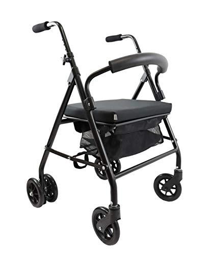 KMINA - Andador para ancianos, Andador plegable, Andadores...