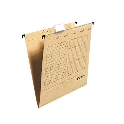Falken 80004328 - Carpeta colgante, paquete de 25