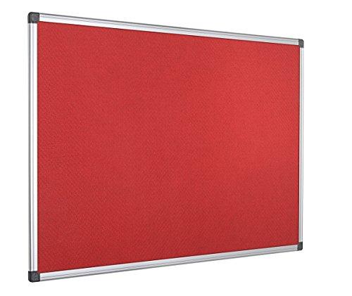Bi-Office Maya - Tablero de anúncios con marco de aluminio,...