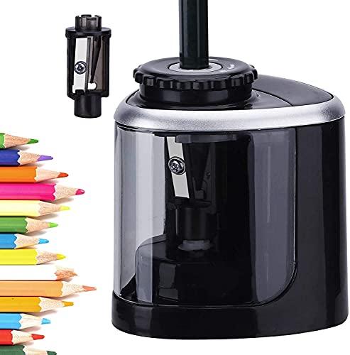 Afilador de lápices, sacapuntas eléctrico de batería, de...