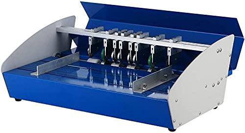 VEVOR Plegadora Papel Eléctrico 460 mm 3 en 1, Máquina...