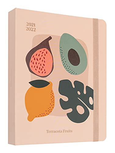 Agenda 2021 2022 Terracota Fruits. Agenda semana vista...