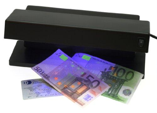 GENIE MD 1784 - Detector de billetes falsos con 2 tubos UV,...