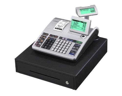 Casio SE-S400MB-SR GDPdU - Caja registradora (10 líneas en...