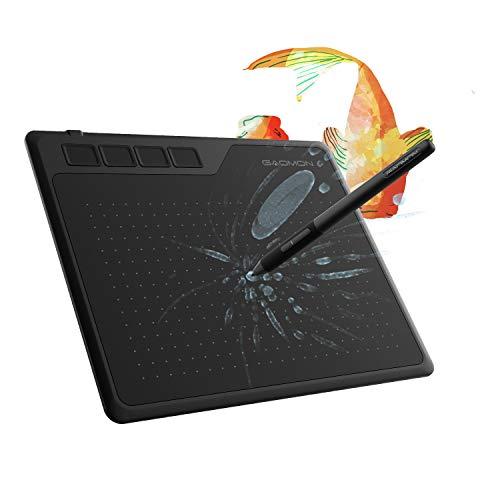 GAOMON S620 6,5 x 4 Pulgadas OSU Tableta Gráfica 8192...