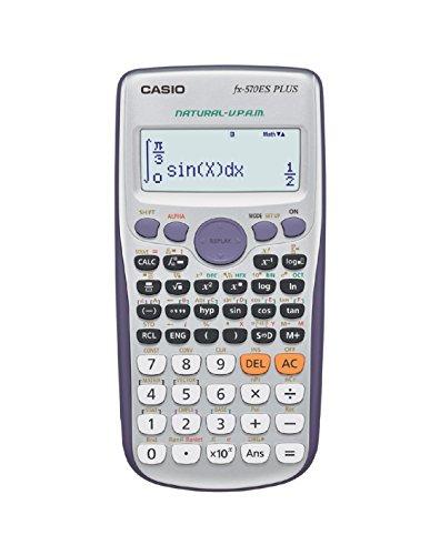 Casio FX-570ES PLUS - Calculadora científica 80 x 162 x...