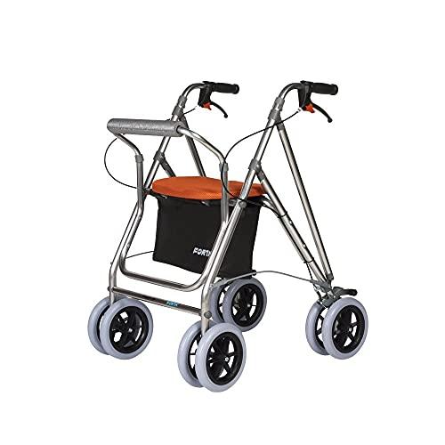 Andador para ancianos , Rollator de aluminio , Andador on...