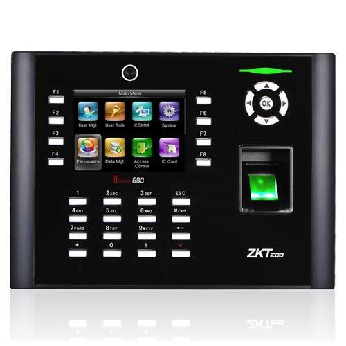 ZKTeco Control de Presencia ZK-ICLOCK680 Biométrico Huella...