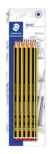 Staedtler Noris 120-2 BK10. Lápices de madera certificada....