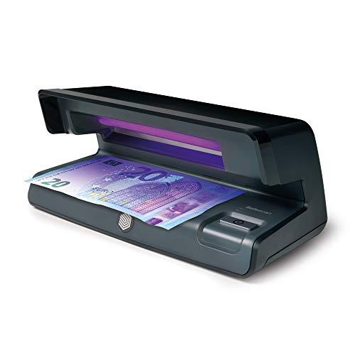 Safescan 50 Negro - Detector UV de billetes falsos,...