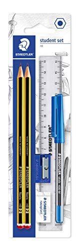 Staedtler - Conjunto de lápices, goma de borrar, bolígrafo...