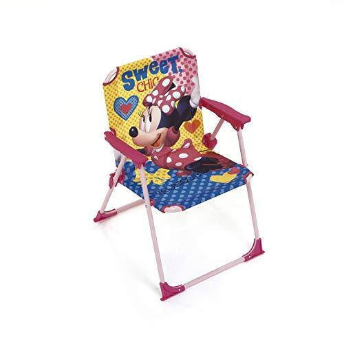 ARDITEX Silla Plegable para niños bajo Licencia Minnie...