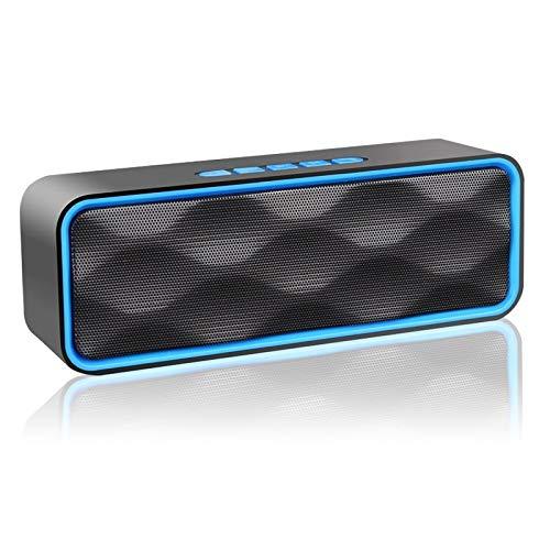 Aigoss Altavoz Bluetooth Portátil Inalámbrico Estereo...