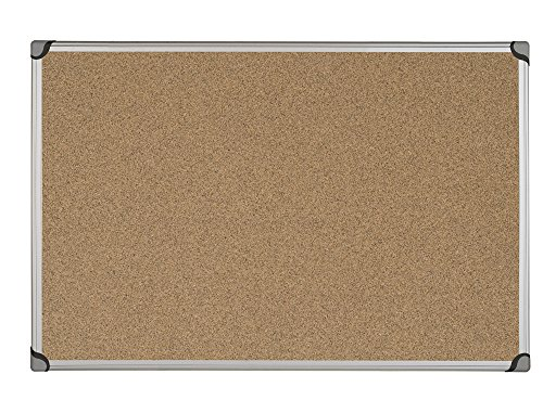 Bi-Office Maya W Series tablón de corcho natural, color...