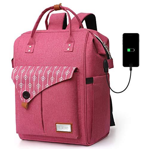 Mochila Portatil para Mujer con Puerto de Carga Externa USB...