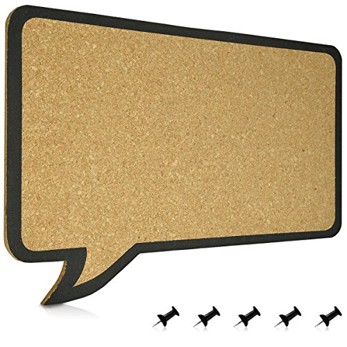 Navaris Tablero 44x29cm tablero diseño de globos de texto...