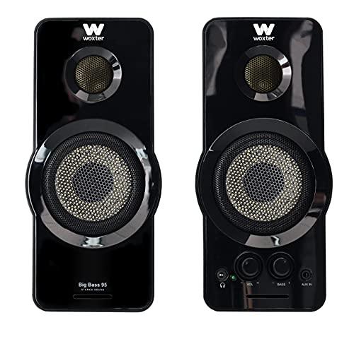 Woxter Big Bass 95 - Altavoces Multimedia Estéreo, 20W,...