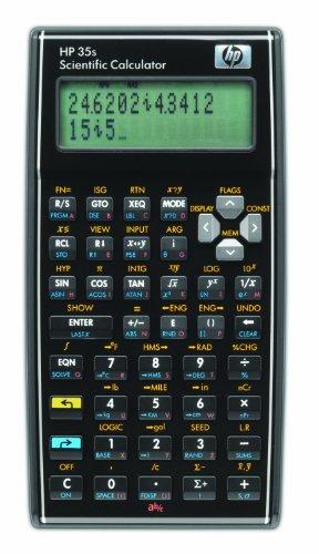 HP 35SC#B12 - Calculadora científica programable (con...