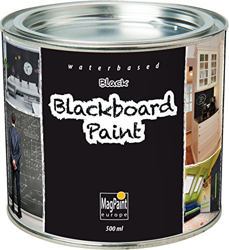 MagPaint MAG2001 - Pintura pizarra negra, 0.5 l