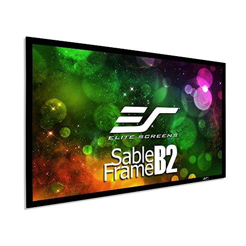 Elite Screens SB110WH2 Kit de Pantalla de proyector de Cine...