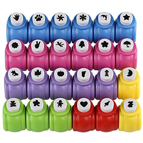 Kesote 24 Mini Perforadoras de Agujero a Mano Hole Puncher...