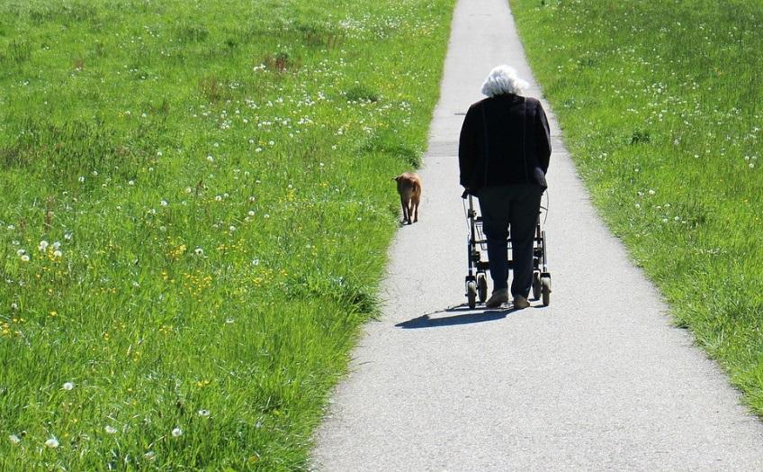 volver a pasear gracias al andador