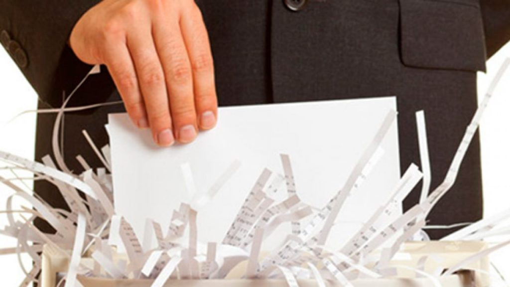 trituradoras de papel