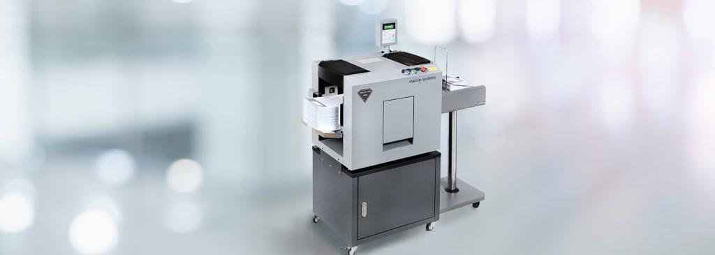 maquina plegadora de papel profesional.