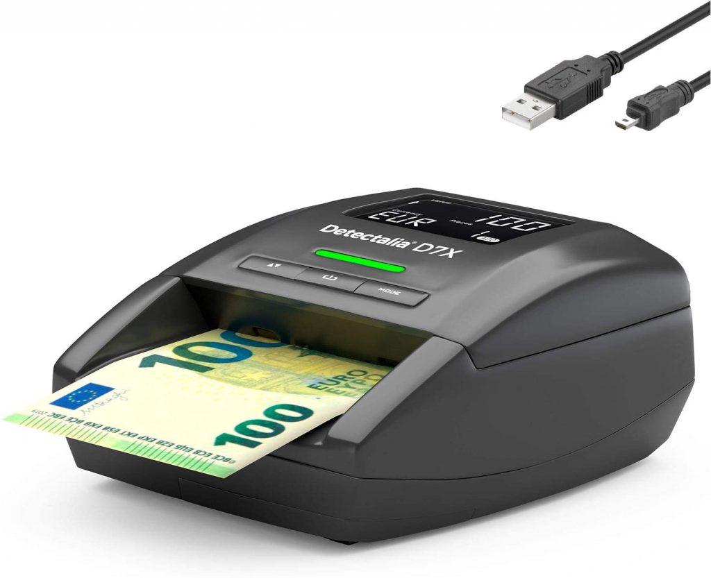 Detector de billetes falsos D7X