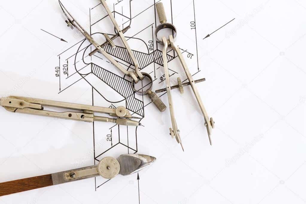 Compas dibujo técnico