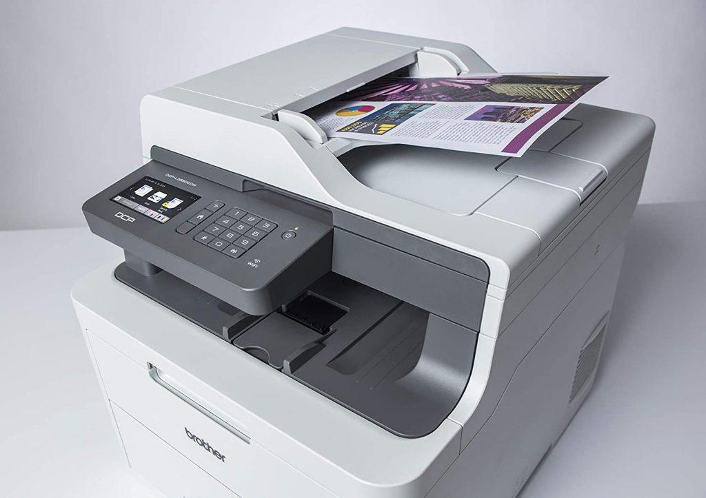 Brother DCP-L3550CDW impresora duplex
