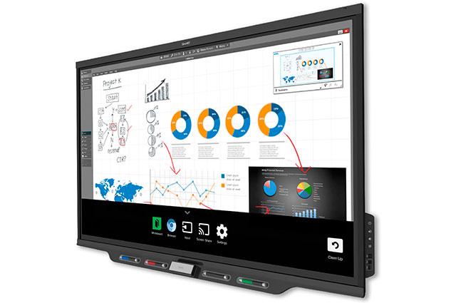 Pizarra magnetica digital interactiva