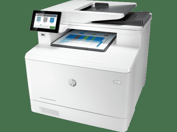 HP Color LaserJet Enterprise M480f con toner a color hp