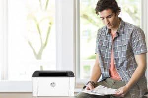 HP Laser 107w analisis