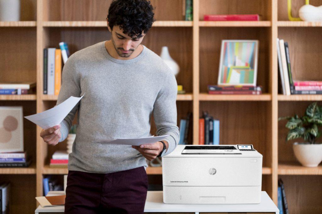 Impresora láser HP LaserJet Enterprise M406dn review