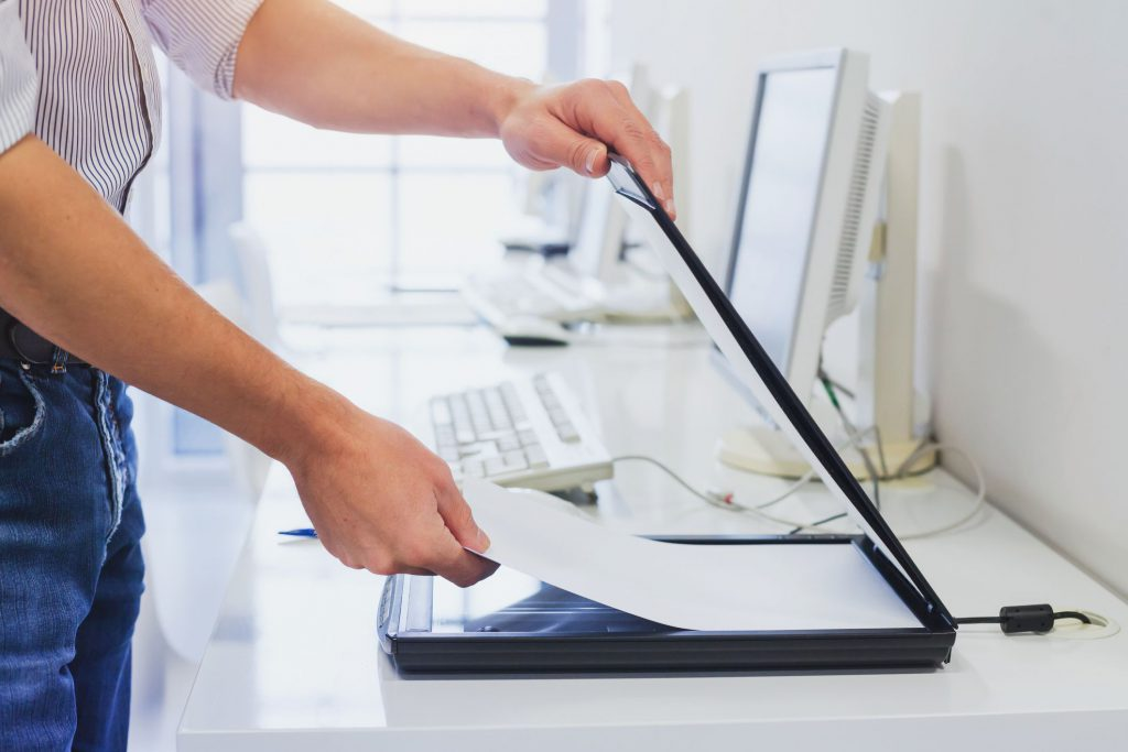 como escanear documentos
