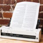 escaner para documentos portatil