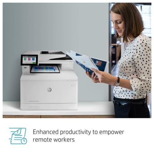 impresoras HP Color LaserJet Enterprise M480f