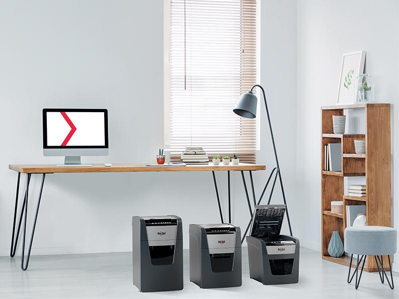 Destructoras de papel para oficina con gran volumen de trabajo